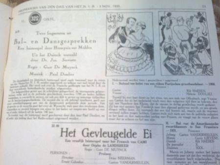 prorammablad 1938